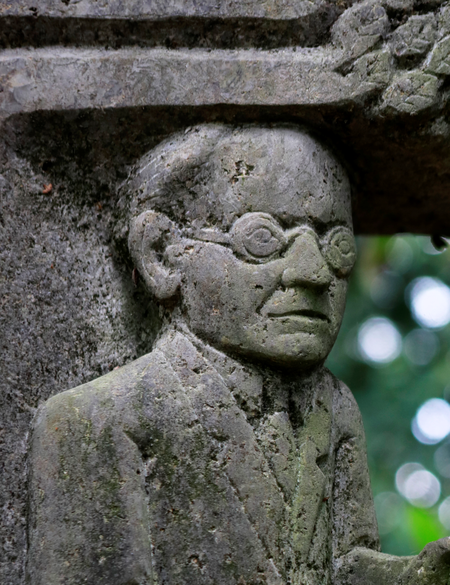 Henryk Dywan (*1933) Bildhauer - Grabmonument von Hanns Heinen