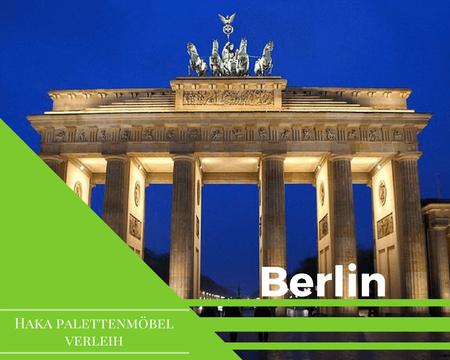 Eventmöbel mieten / Palettenmöbel Verleih & Vermietung in Berlin und Umgebung
