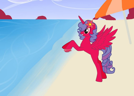 e' di twilight! bellissima! e' princess pinkie star