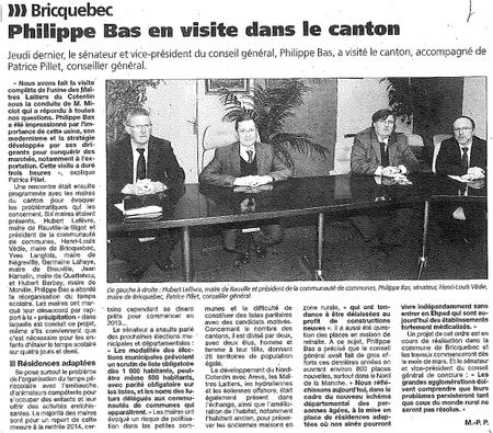 La Presse de la Manche, 13 février 2013