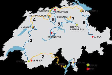 Etappenplan 2012