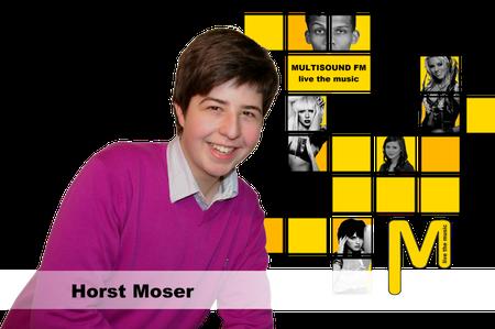 Autogrammkarte Horst Moser