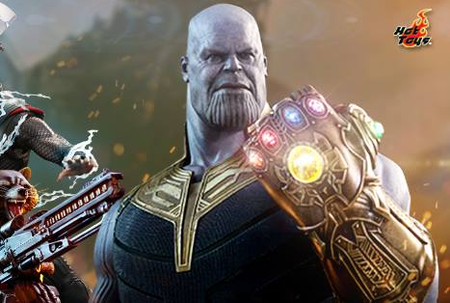 Hot Toys Avengers Infinity War Thanos Sixth Scale Figur Marvel