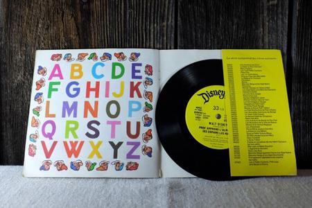 Disque vinyle vintage 33 tours