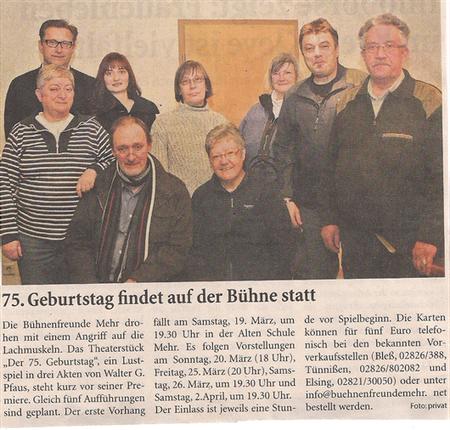Niederrhein Nchrichten 12.03.2011