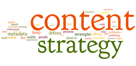 Web content marketing strategy