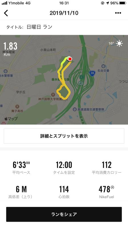 垂水健康公園 ジョギング
