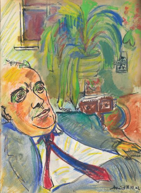 Amud Uwe Millies (1932-2008): Erwin Bowien in Weil am Rhein, 1962