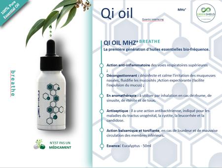 Huile Bio-Fréquense QI Oil Breathe