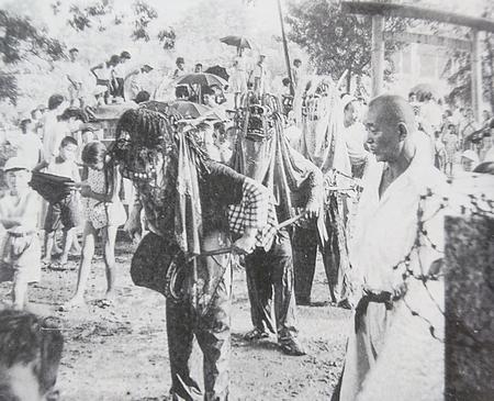 昭和初期の獅子舞