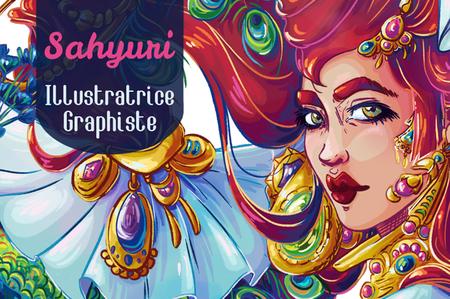 Sahyuri - Illustratrice et Graphiste - Boutique en ligne