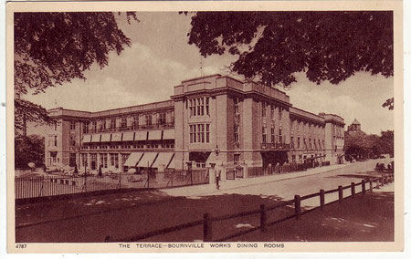 Cadbury's Bournville works - reproduced from Our Past History,