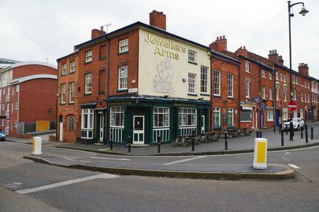 The Jewellers Arms - photograph by P L Chadwick on Geograph reusable under a Creative Commons Licence