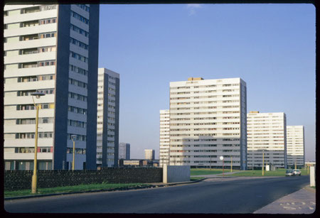 Tangmere Drive photographed in 1968 by Phyllis Nicklin. See Acknowledgements - Keith Berry.
