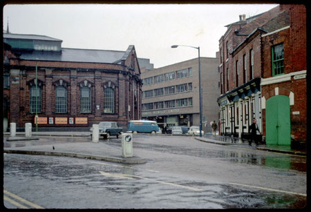 Smithfield Market photographed by Phyllis Nicklin in 1968. See Acknowledgements Keith Berry.