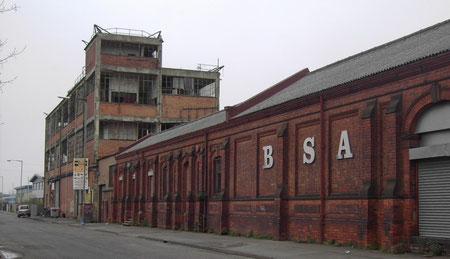 The remains of the BSA in 2008