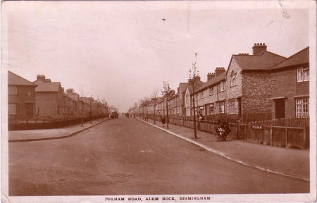 The Pelham - date unknown - Thanks for the use of this postcard to JKC/ John K Colin on the Birmingham History Forum.