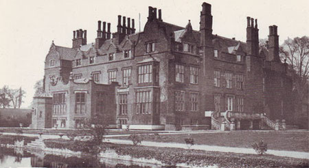 Perry Hall. Image from Matthew Beckett's website 'Lost Heritage - Lost Country Houses of England' used under the copyright statement on that website.
