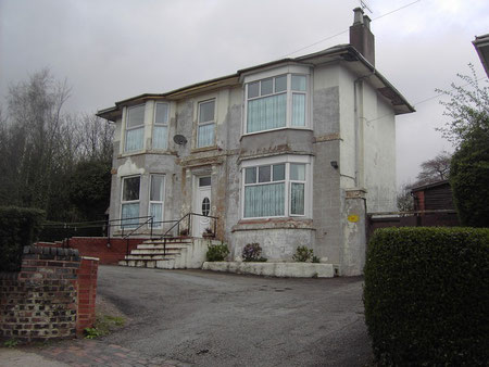 This house at the top of Copeley Hill now overlooks Spaghetti Junction.