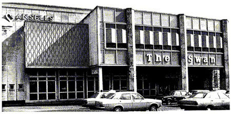 The Swan in the 1970s