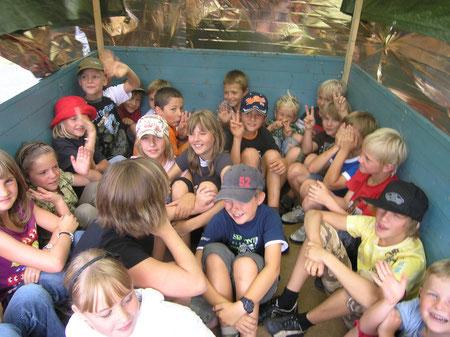 Spaß und Gaudi beim Zeltlager 2008