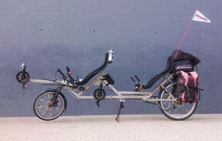 Recumbent Tandem TWOgether One