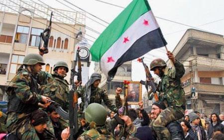 Desertører fra Assads hær