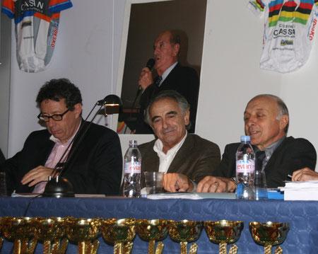 Le député maire Mr Jacques Bascou était présent