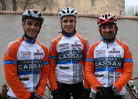 Eric Groy, Florent Castellarnau, Richard Carpena