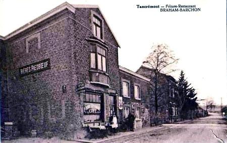 Une friture à Tancrémont année 1950
