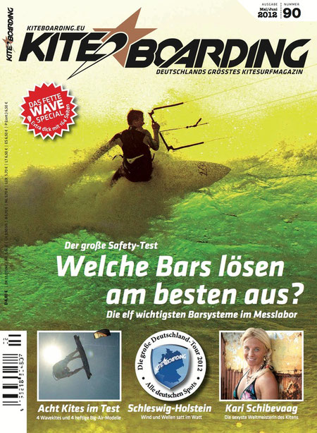 Kiteboarding.de 2/2012 Cover