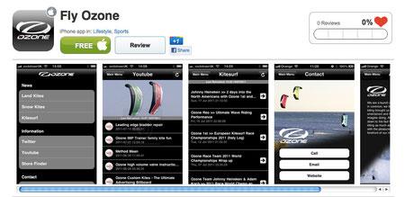 Ozone Iphone App
