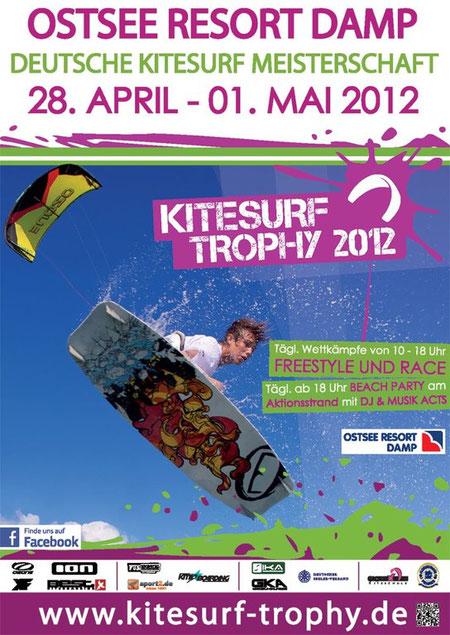 Ozone Poster Kitesurf Trophy 2012