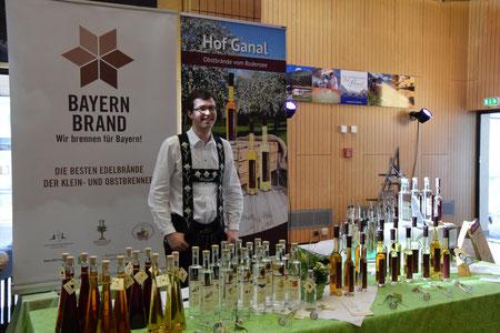 Feine Brände und Liköre auf dem Internationalen Käsefestival in Oberstdorf