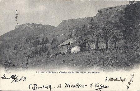 La Thuile vers 1895
