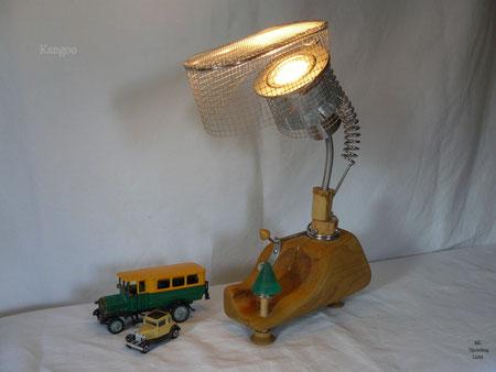 Prämiertes Upcycling Lichtobjekt KANGOO