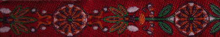 Pinwheel rot grün lila orange rosa Breite 16mm