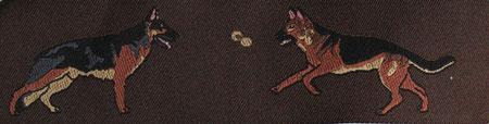Schäferhund braun