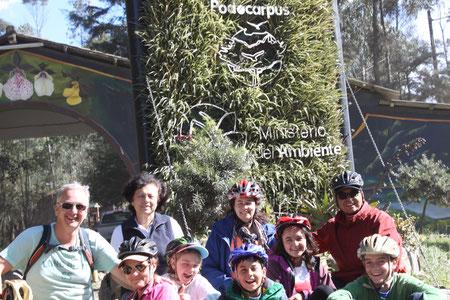 Besuch des Nationalparks Podocarpus mit ECUADORline