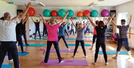 Für bessere Bewegung sorgt der Antara-Kurs, der bei Jung und Alt gut ankommt.