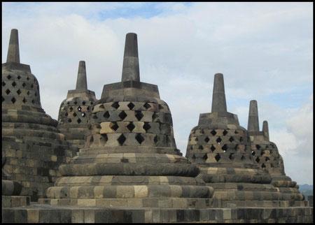 Textiil Borobudur Stupas