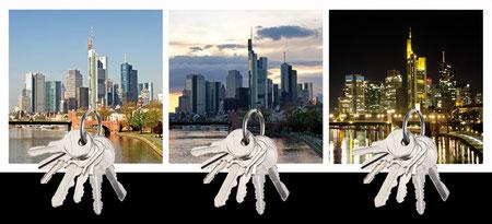 Design Geschenk Frankfurt Skyline