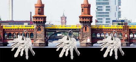 Design Geschenkidee Berlin Oberbaumbrücke