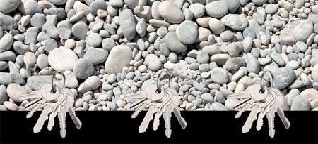 Design Geschenkidee Steine