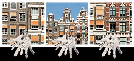 Design Geschenk Amsterdam Fenster