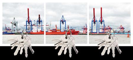 Design Geschenk Hamburg Hafen