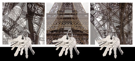 Design Geschenk Paris Eiffelturm