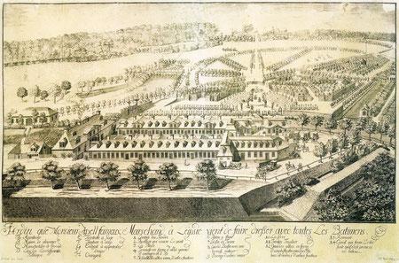 Apels Garten um 1720