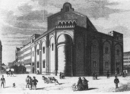 Große Gemeindesynagoge von Leipzig