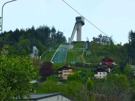 Le tremplin de saut à ski d'Innsbruck